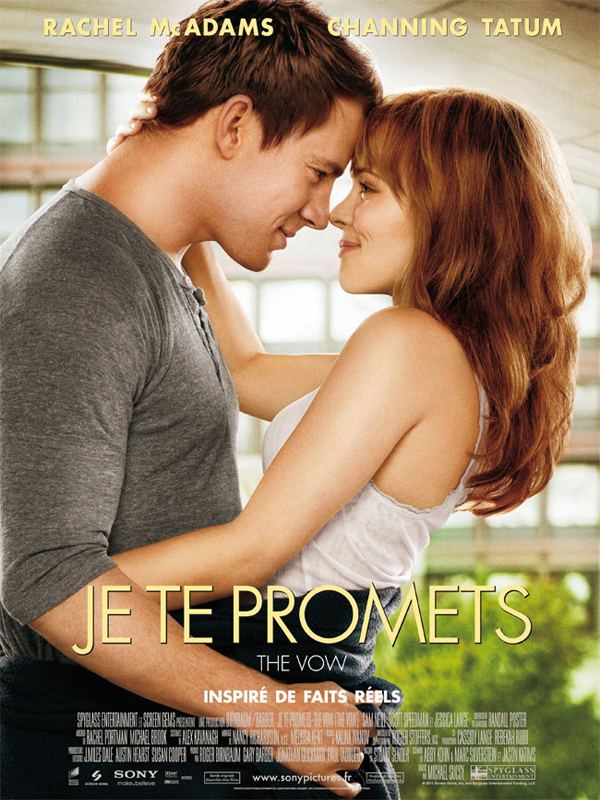 film critique - [Critique] Je Te Promets (2012) affiche je te promets