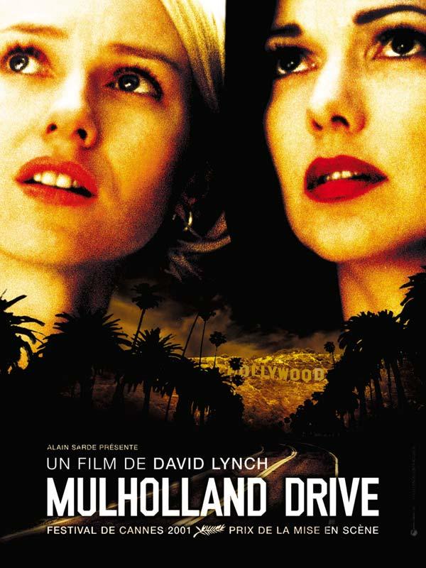 Mulholland Drive affiche