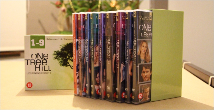 Photo 2 coffret dvd one tree hill 9 saisons