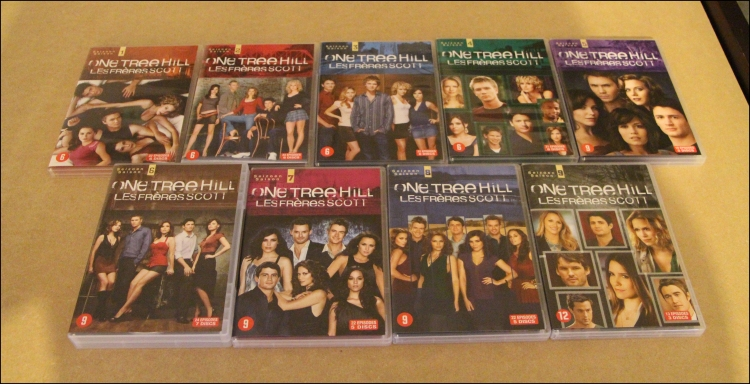 Photo 3 coffret dvd one tree hill 9 saisons