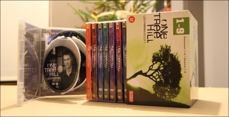 Photo 4 coffret dvd one tree hill 9 saisons