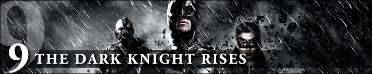 Top cinéma 2012 the dark knight rises