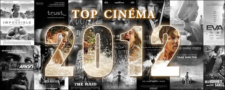 Top cinéma 2012