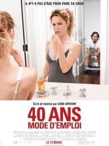 Affiche 40 ans mode d'emploi