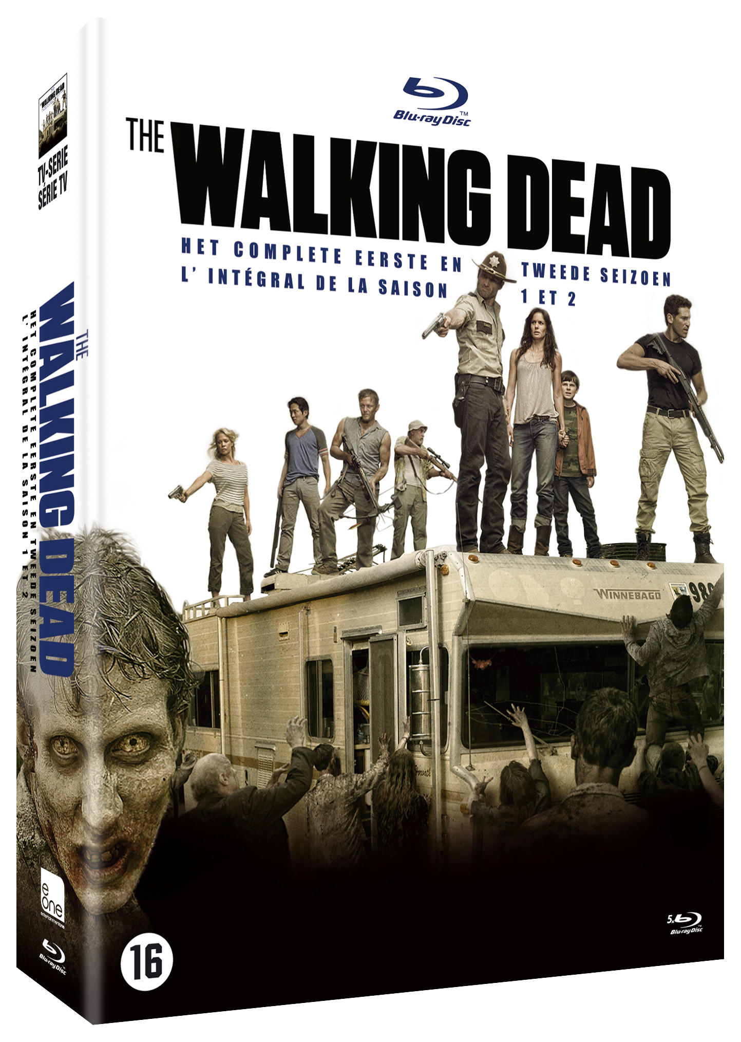 test blu ray the walking dead saison 1 2 cin rama. Black Bedroom Furniture Sets. Home Design Ideas