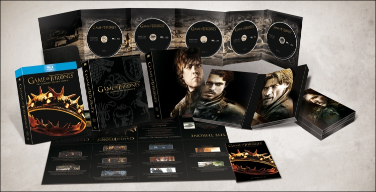 Photo coffret game of thrones saison 2