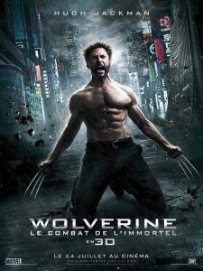 Affiche wolverine - le combat de l'immortel