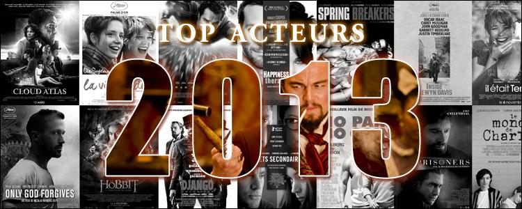Top acteurs 2013
