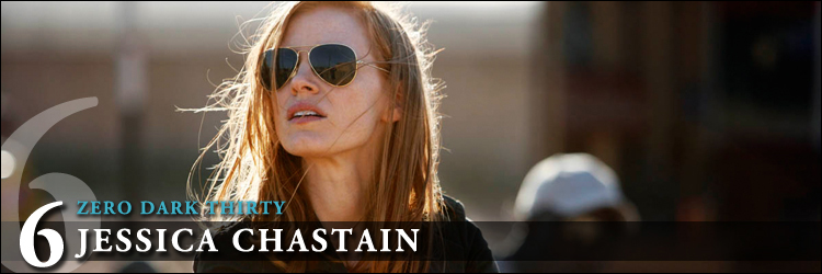 Top actrices 2013 zero dark thirty