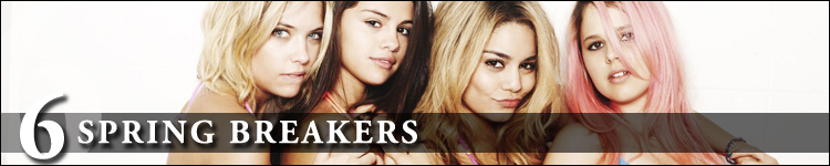 Top cinéma 2013 spring breakers