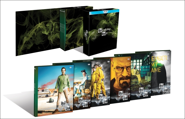 Photo coffret intégral breaking bad 5 saisons