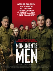 Affiche fr the monuments men