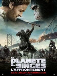 Affiche fr la planète des singes - l'affrontement
