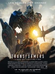 Affiche fr transformers 4