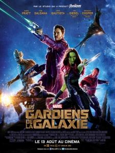 Affiche les gardiens de la galaxie