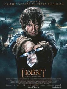 Affiche fr the hobbit 3