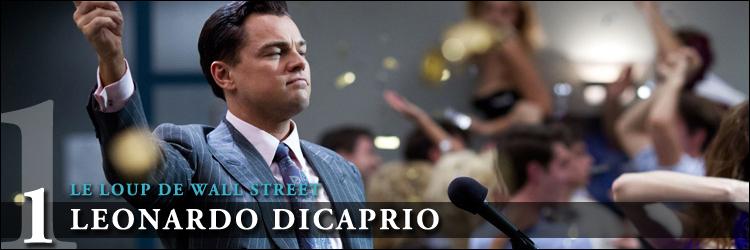 Top acteurs 2014 le loup de wall street