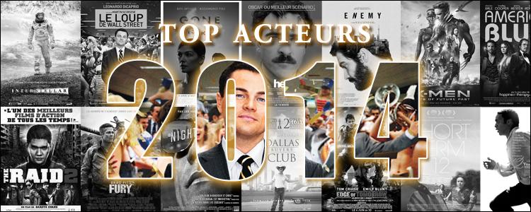 Top acteurs 2014