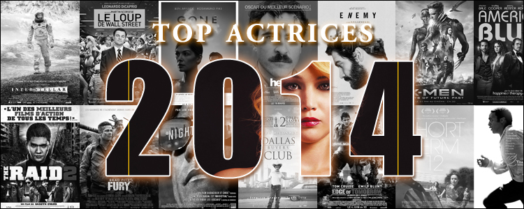 Top actrices 2014