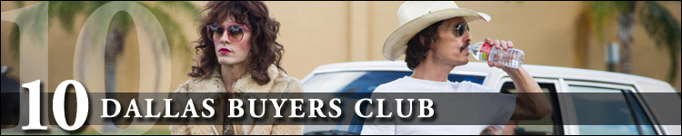 Top cinéma 2014 dallas buyers club