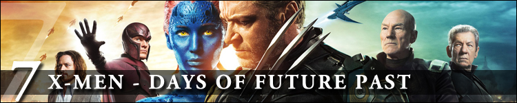 Top cinéma 2014 x-men - days of future past