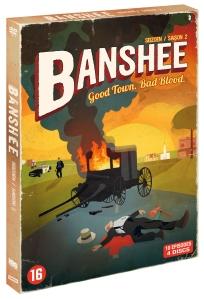 DVD banshee saison 2