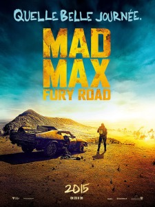 Affiche mad max - fury road