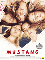Affiche petite mustang