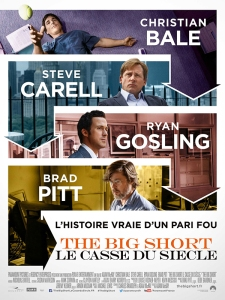 Affiche the big short - le casse du siècle