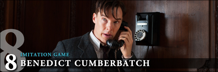 Top acteurs 2015 imitation game