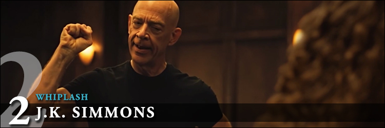 Top acteurs 2015 whiplash