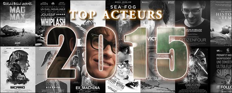 Top acteurs 2015