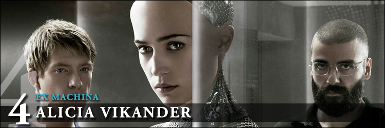 Top actrices 2015 ex machina