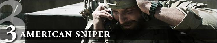 Top cinéma 2015 american sniper