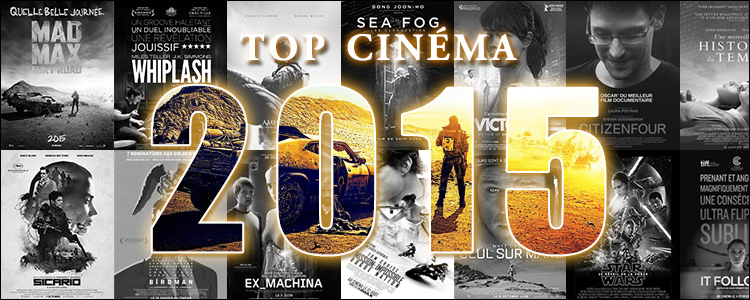 Top cinéma 2015