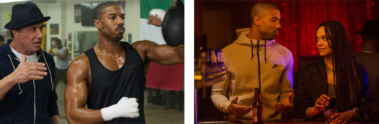 Photo creed - l'heritage de rocky balboa