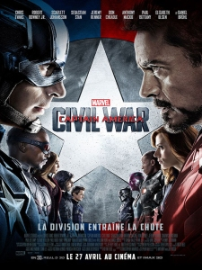 Affiche fr captain america - civil war