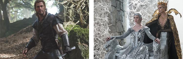 Photo le chasseur et la reine des glaces