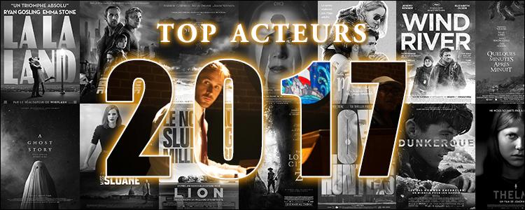 Top acteurs 2017