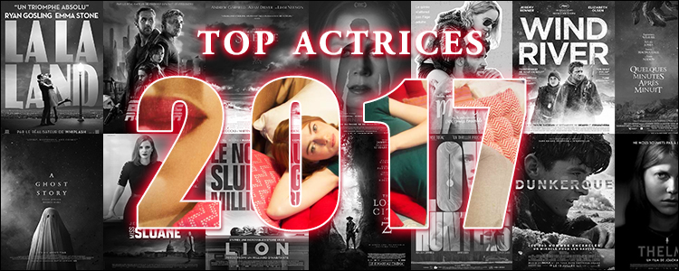Top actrices 2017