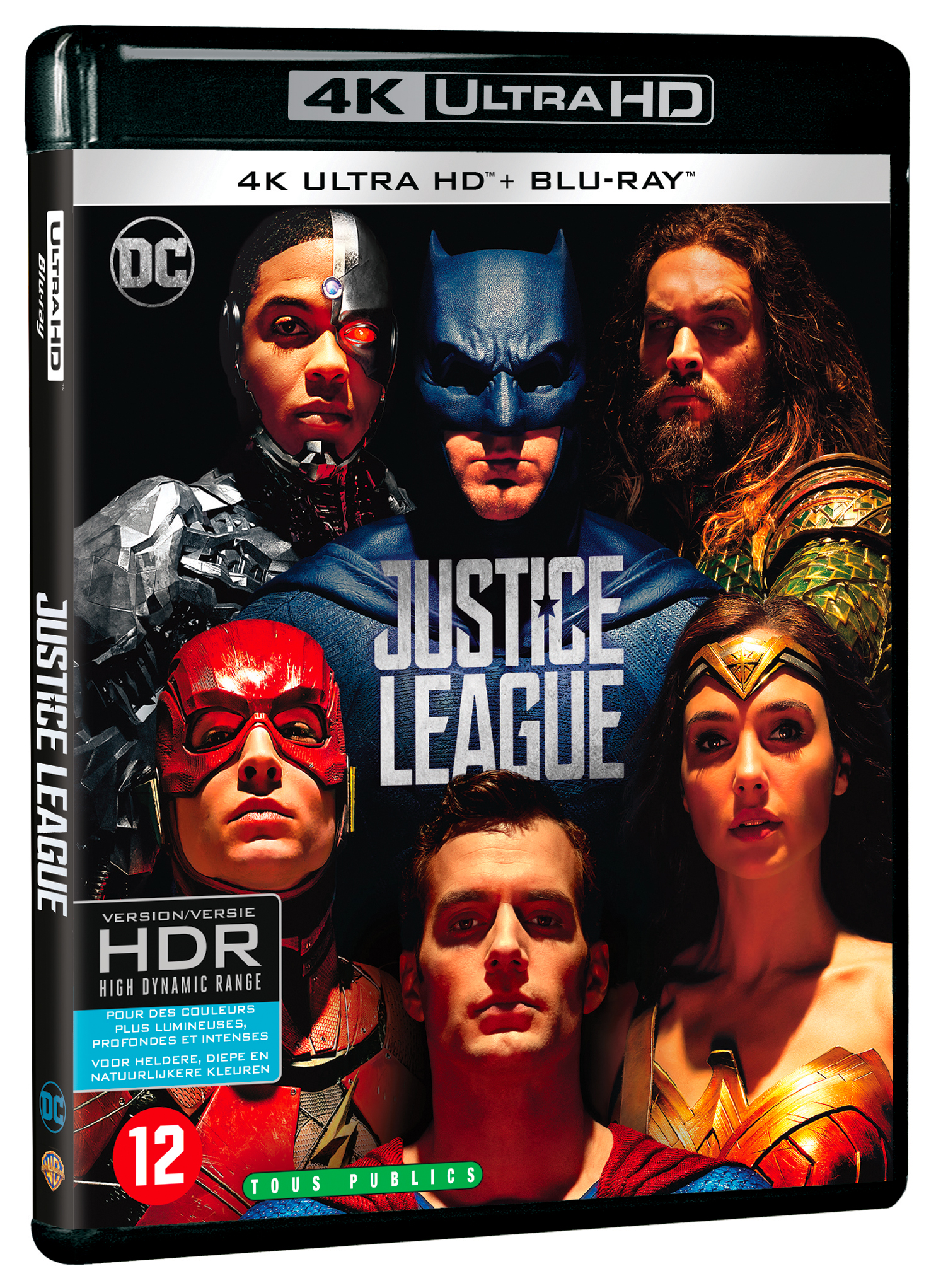 test blu ray 4k justice league cin rama. Black Bedroom Furniture Sets. Home Design Ideas